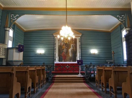 Altarrom Gransherad kirke