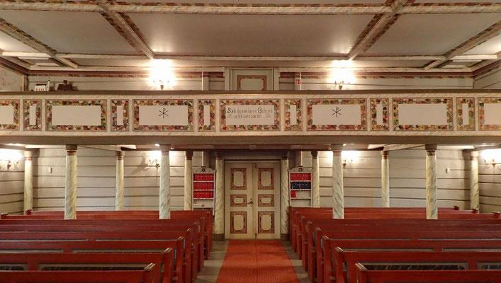 orgel galleriet Atrå kirke