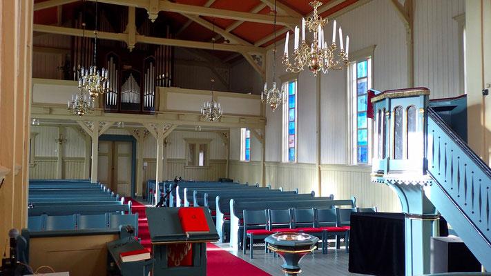 nye vinduer i Austbygde kirke