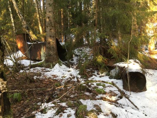 rester etter vaskeriet fra Tinnsjø koppermine