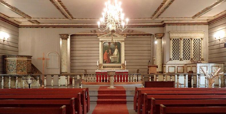 Altarrom Atrå kirke