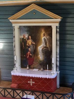 Altar Gransherad kirke