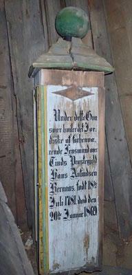 på Atrå kirketårnet finnes forskjellig fra gammle dager