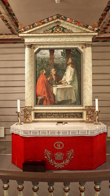 Altar Atrå kirke