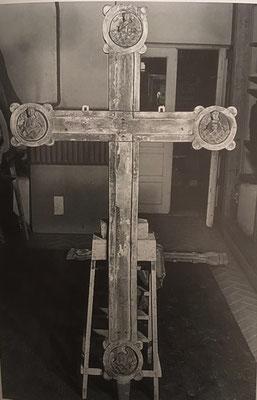 gamal kors fra Gransherad stavkirke