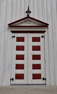 inngangsdør Atrå kirke