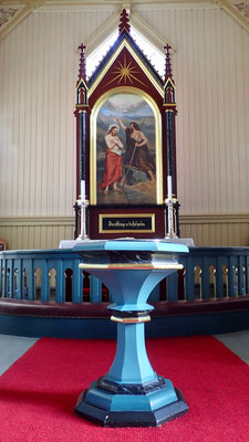 Altar i Austbygde kirke
