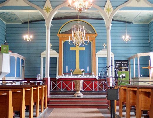 Altarrom Hovin kirke