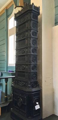 gamal oven i Gransherad kirke
