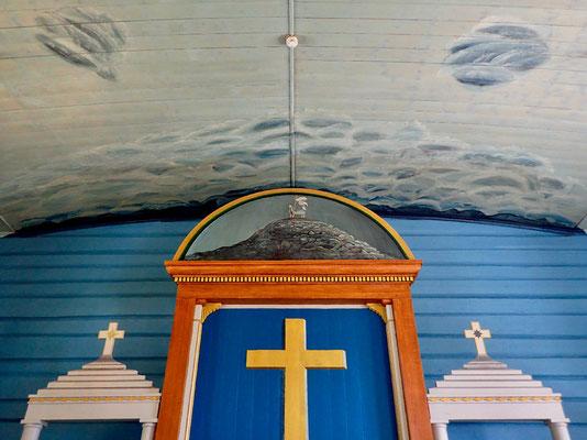 Altartavle Hovin kirke