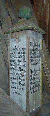 minne på Atrå kirketårnet