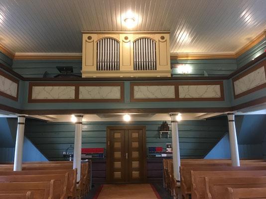 Orgelgalleriet Gransherad kirke