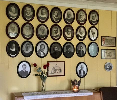 prester galleri i Gransherad kirke