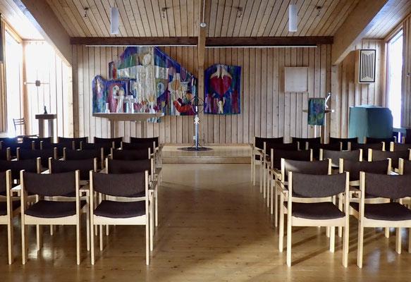 der Kirchenraum