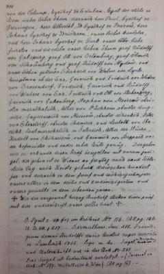 Transliteration Seite 2 (Stiftsarchiv)