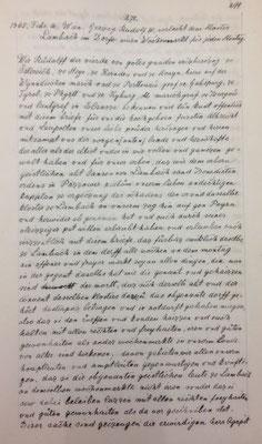 Transliteration (Übertragung in neuere Schrift) Seite 1