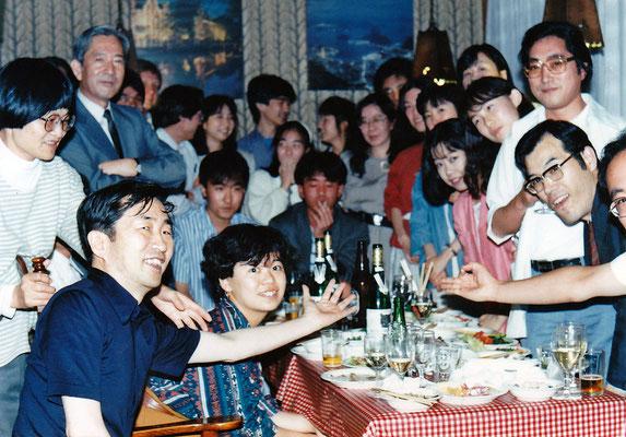1990年1月に行われた佐藤先生最終講義の後か?