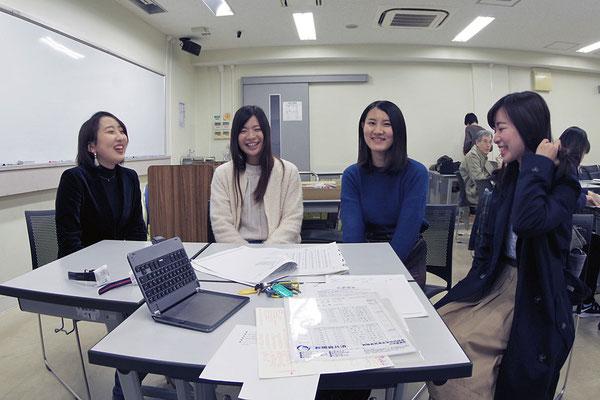 2017年冬(03.12 名古屋大学全学教育棟本館) 受験者が訪問してくれた(1)