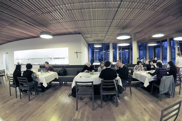 Bauernschule で夕食に招待される(1)