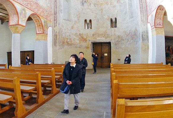 聖ゲオルク教会の内部見学