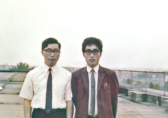 富山大学勤務時代(写真は1971〜3年頃)