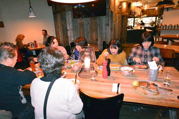 最後の晩餐(その2、Bürgerstuben で)