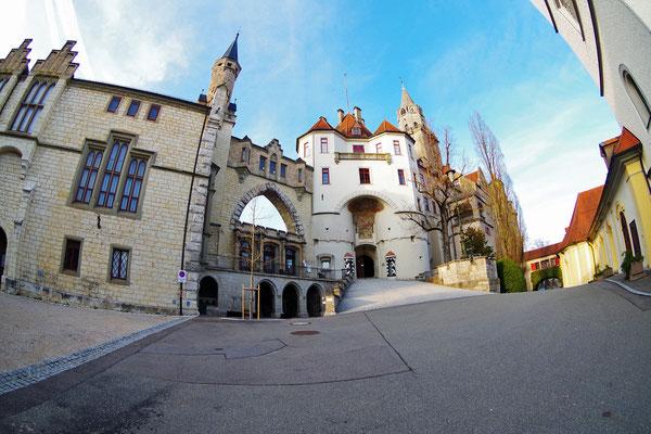 Sigmaringen 城の正面