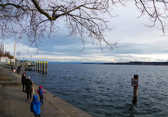 Überlingen。Bodensee 湖畔で