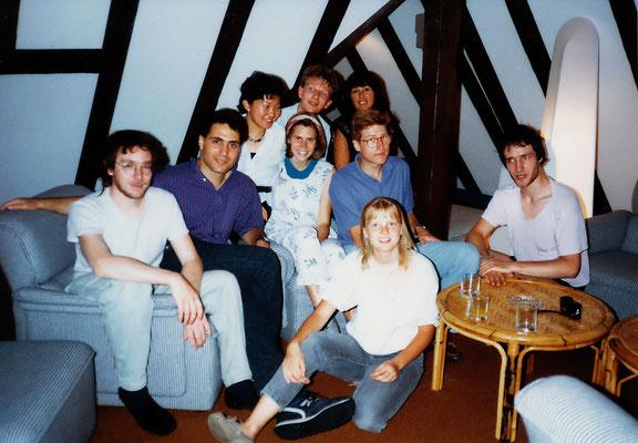 Konstanz 大学の学生たち(1987年)