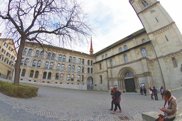 Zürich の旧市街地で(1)