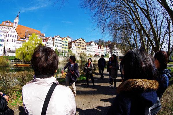 Tübingen 観光にいざ出発!