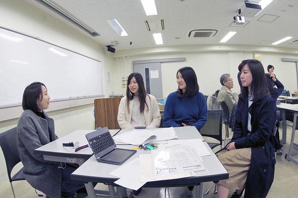 2017年冬(03.12 名古屋大学全学教育棟本館) 受験者が訪問してくれた(2)