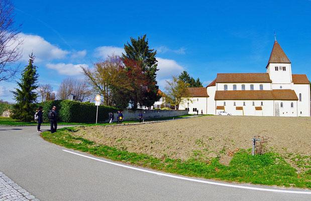 Reichenau。島の一番手前側(東側)にある聖ゲオルク教会まで戻る