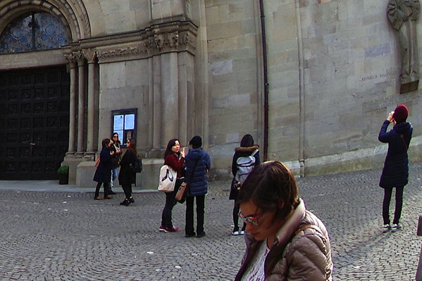 Zürich の旧市街地で(2)