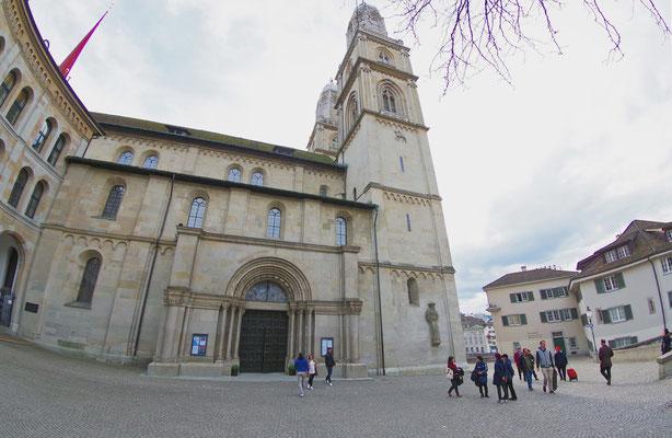 Zürich の旧市街地で(3)