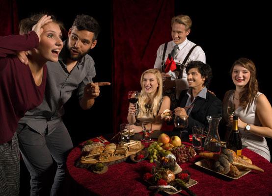 Bauernsushi meets Impro-Snacks - Unterhaltung mit Geschmack