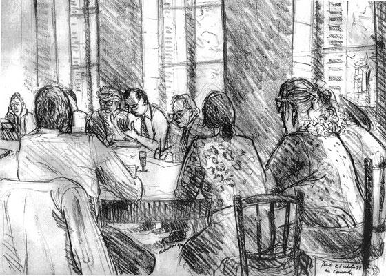 Le Concorde - Réunion des parties civiles du procès Papon le 23-10-1998