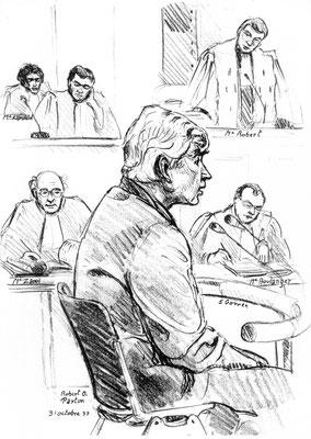 Robert Paxton, historien, au procès Papon