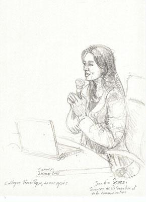 """Sandie Scozzi - Colloque """"Procès Papon, vingt ans après"""""""