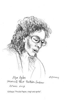 """Alya Aglan - Colloque """"Procès Papon, vingt ans après"""""""