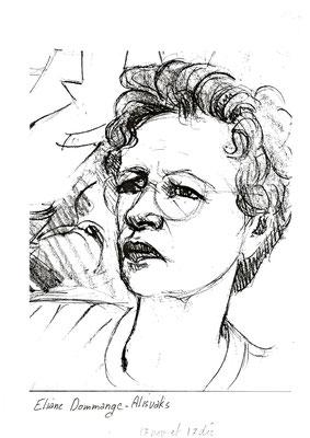 Eliane Dommange-Alisvaks  #Procès Papon