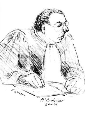 Me Gérard Boulanger, procès Papon