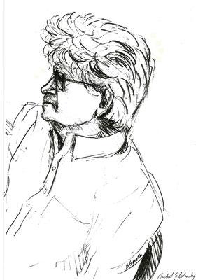 Michel Slitinsky, partie civile du procès Papon