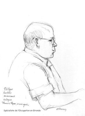 """Philippe Souleau - Colloque """"Procès Papon, vingt ans après"""""""