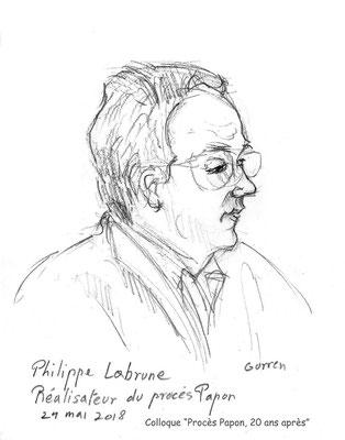 """Philippe Labrune - Colloque """"Procès Papon, vingt ans après"""""""