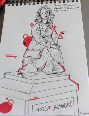 Rosa Bonheur au Jardin public à Bordeaux