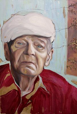 Jurij. Oil on canvas. 80 x 60 cm. September 2018