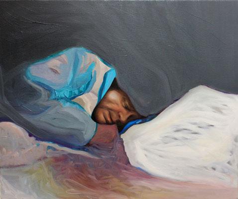 Dream. Oil on canvas. 60 x 40 cm. September 2018