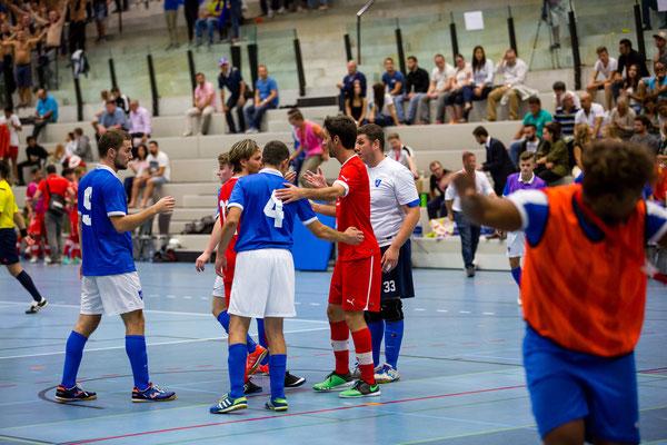 MinervaCup 2015 - Swiss Futsal Nationalteam VS. Futsal Dinamo