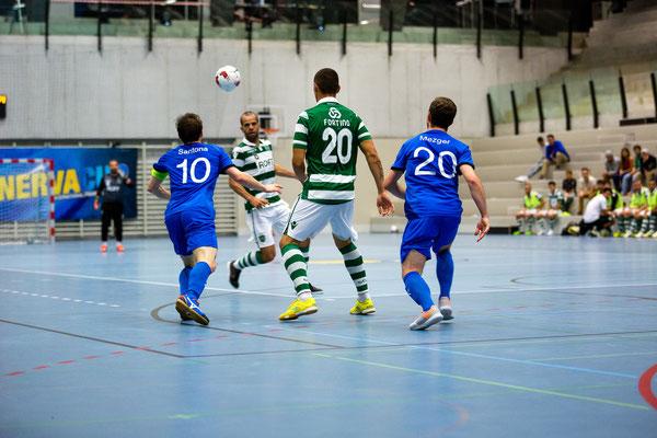 MinervaCup 2015 - Futsal Minerva VS. Futsal Sporting Clube de Portugal